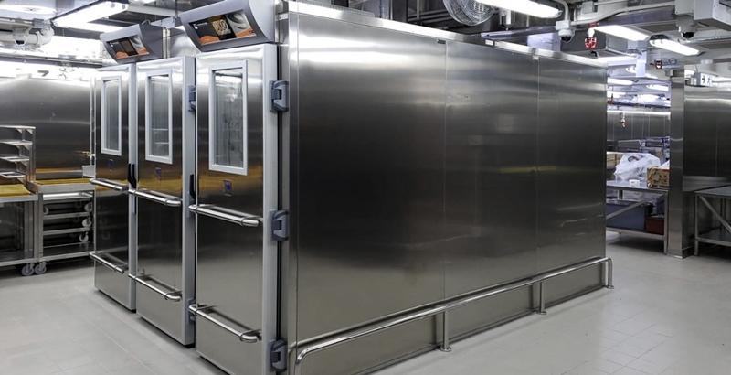 installazione celle di lievitazione finale